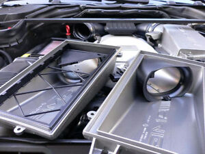 AMG ROW AIR BOX MOD INTAKE - C63 S63 E63