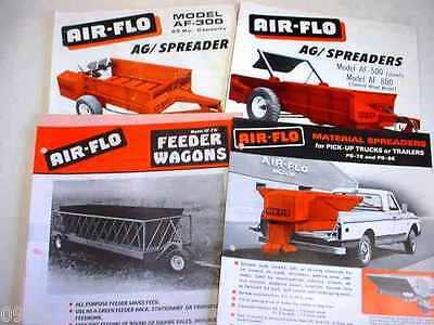Air-flo Manure Spreader Material Spreader Feeder Wagon Brochures