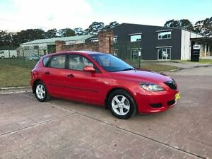 2005 Mazda 3 BK10F1 Neo Red Manual Hatchback South Nowra Nowra-Bomaderry Preview