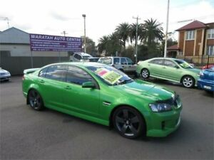 2008 Holden Commodore VE MY08 SV6 Green 6 Speed Manual Sedan Waratah Newcastle Area Preview