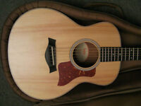 Taylor GS-mini acoustic guitar with case and manual etc