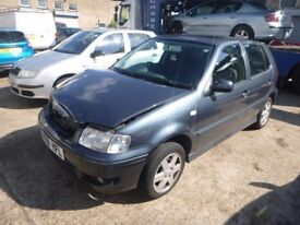 VOLKSWAGEN POLO - W391YFL - DIRECT FROM INS CO