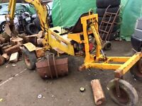 Benford mantiss mini digger excavator digger -good working order -can deliver