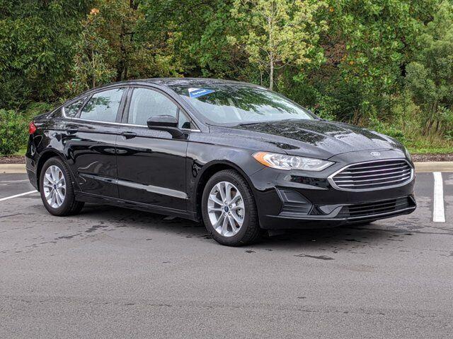 2019 Ford Fusion SE 16470 Miles Black 4dr Car Intercooled Turbo Regular Unleaded