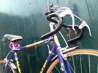 Vintage Raleigh Flyer racing road bicycle