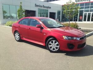 2016 Mitsubishi Lancer 4DR SDN ES FWD Heated Seats, Bluetooth, P