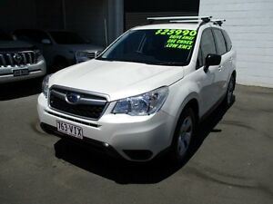 2014 Subaru Forester S4 MY14 2.5i Lineartronic AWD White 6 Speed Constant Variable Wagon Toowoomba Toowoomba City Preview