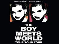 Drake Boy meets world Tour o2 Arena Tonight