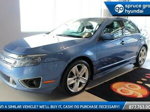 2010 Ford Fusion SPORT/AWD/LEATHER/ROOF/NO FEES