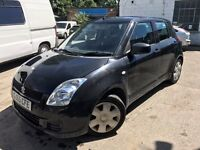 2005 Suzuki Swift, starts and drives, being sold as spares or repair due to noisy gearbox, MOT until