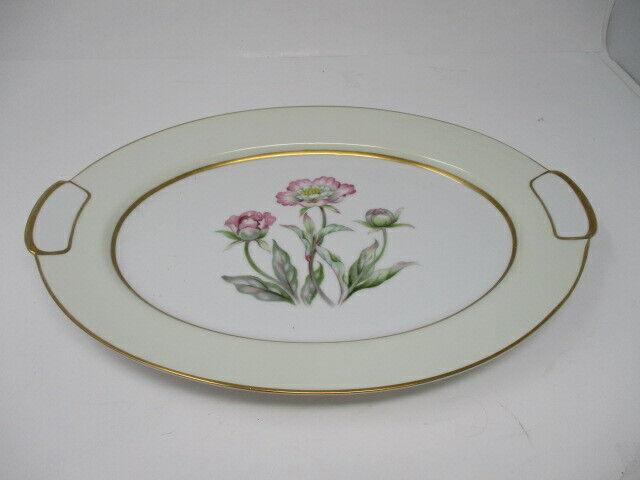 "Mikado China Harmony Oval Serving Platter 14 1/2"""