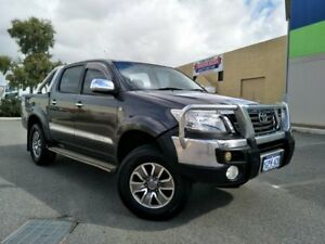 2008 TRD Hilux 4000SL (4x4) GGN25R 08 Upgrade Grey 5 Speed Automatic Dual Cab Pick-up Malaga Swan Area Preview