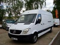 2007 MERCEDES BENZ SPRINTER 2.1 CDI 311 LWB Extra High Roof Panel Van