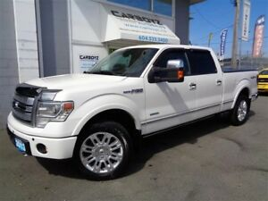 2013 Ford F-150 Platinum Nav, 6.5 Box, Eco-Boost, Max Trailer To