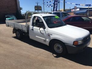 2000 FORD COURIER PE GL 4X2 SINGLE CAB TRAY AND DROPSIDES ( LOW KILOMETRES A1 COND )) Bayswater Bayswater Area Preview