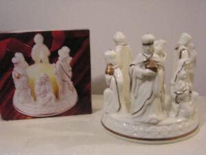 Grandeur Noel Porcelain Angel Set - Etc London Ontario image 1