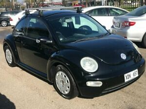 2004 Volkswagen Beetle 9C 1.6 Ikon Black 4 Speed Automatic Hatchback Woodville Park Charles Sturt Area Preview