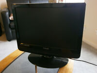 Technika LCD TV with Freeview and built-in DVD Player
