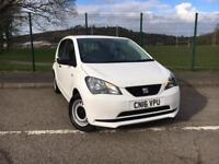 SEAT MII 1.0 S 2016 *ONLY 10,600 MILES, SEAT WARRANTY UNTIL MARCH 2019*