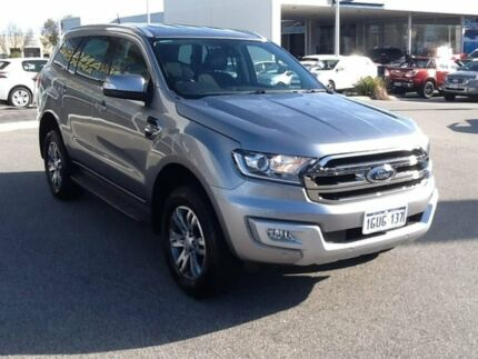 2017 Ford Everest UA Trend 4WD Silver 6 Speed Sports Automatic Wagon Rockingham Rockingham Area Preview
