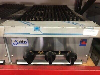 New 18 Radiant Char Broiler Lp Propane Grill Restaurant Stratus Srb-18lp 7158