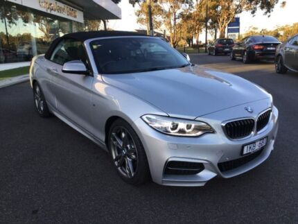 2017 BMW M240i Silver Sports Automatic Convertible Traralgon Latrobe Valley Preview