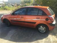 BELLE KIA RIO5 2006 ,4 CYLINDRES 1.6 LITRES
