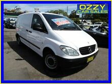 2005 Mercedes-Benz Vito 109CDI Compact White 6 Speed Manual Van Emu Plains Penrith Area Preview