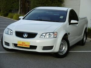 2013 Holden Ute VE II MY12.5 Omega White 6 Speed Sports Automatic Utility Melrose Park Mitcham Area Preview