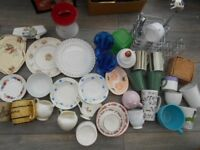 Crockery- Kitchen Clear Out! Students Kitchen? BUNDLE