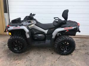2018 Can-Am Outlander MAX XT 1000R - Brushed Aluminum