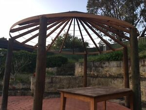 African thatch gazebo frame Wembley Downs Stirling Area Preview