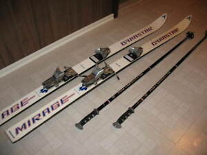 Soloman Downhill Skis with Poles