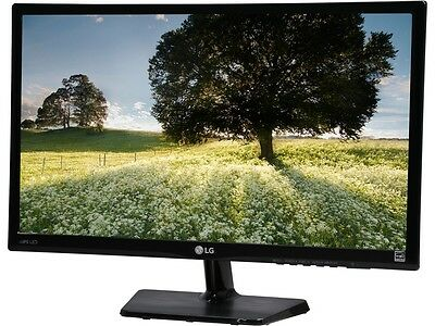 "شاشة ليد جديد LG 23MP47HQ Black 23"" 5ms HDMI Widescreen LED Monitor IPS 250"
