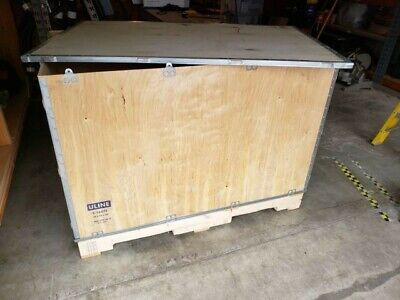 Uline Wood Shipping Crate 48 X 30 X 35