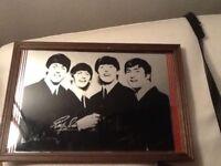 Beatles mirror picture