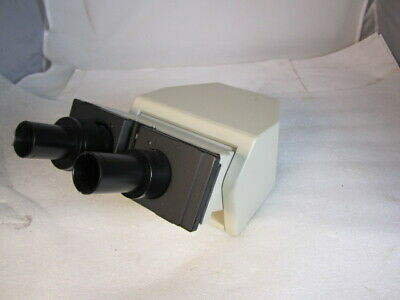 Olympus Microscope Bh-2 Tilting Ergonomic Binocular Head 23mm Eyepiece Tubes