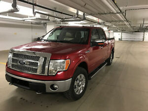 2012 Ford F-150 Lariat 4x4 crew cab Loaded Leather Remote start