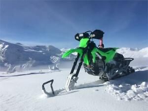 Coopers Motorsports, has snowbikes. Bike of the year on snow!