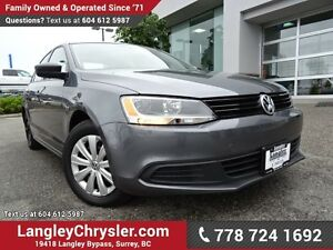 2013 Volkswagen Jetta 2.0L Trendline ACCIDENT FREE w/ POWER W...