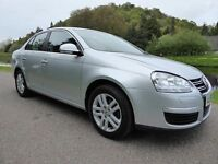 VW Jetta 2.0 TDI DPF SE DSG, Full Service History, New MOT, Amazing MPG, Superb Condition Throughout