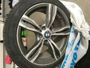 BMW winter mags and tires 225/45/r18 (set of 4)