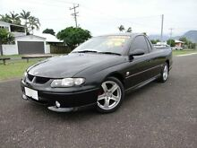 2001 Holden Commodore Vuii SS Black 4 Speed Automatic Utility Bungalow Cairns City Preview
