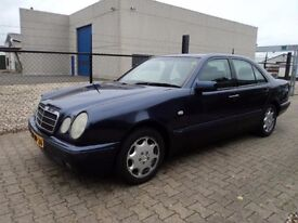 LEFT HAND DRIVE MERCEDES BENZ E CLASSE300 TD AVANTGARDE, DRIVES PERFECTLY,AUTOMATIC,AIRCONDITIONED