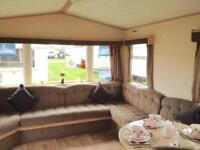 Cheap 3 bed static caravan sited for sale on Yorkshire 12 month holiday park