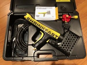 Shrinkfast 975 Heat Gun NEW. Shrink Wrap Boats, Equipment, Patio