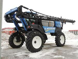 2011 New Holland Guardian SP.365F Sprayer - 120', 1600ga SS tank