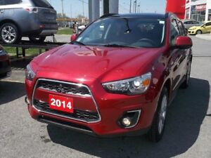 2014 Mitsubishi RVR GT AWC/7INCH LCD/NAV/LEATHER/CAM & MORE!!