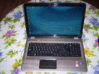 """HP DV7 17"""" QUAD CORE, 6GB RAM, 750GB HDD, WEBCAM, DVD RW, HDMI"""