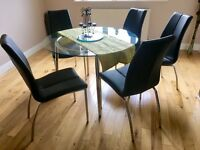 Dining table and Chairs for sale - Very good condition